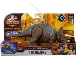 Jurassic World Sound Strike Triceratops