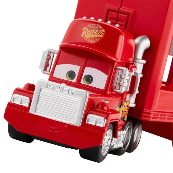 Cars Mini Racer Mack Truck Transporter