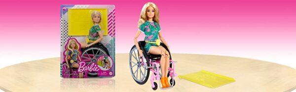 Barbie Fashionista Doll With Wheelchair