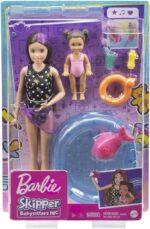 Barbie Babysitter Skipper Pool Playset GRP39