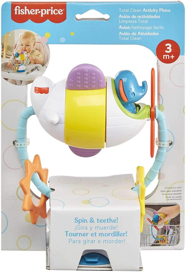 Fisher Price Total Clean Activity Plane
