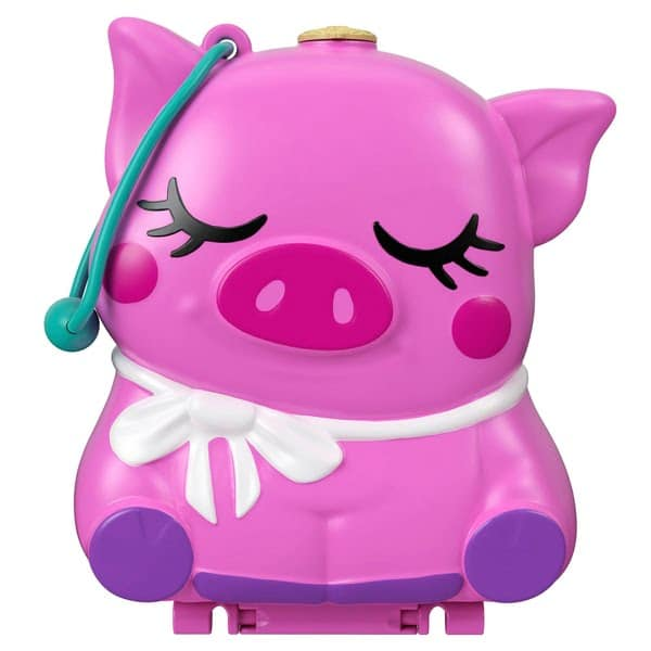 Polly Pocket World On The Farm Piggy Compact