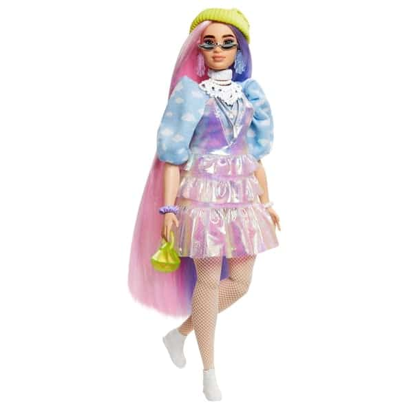 Barbie Extra Doll in Shimmery Look
