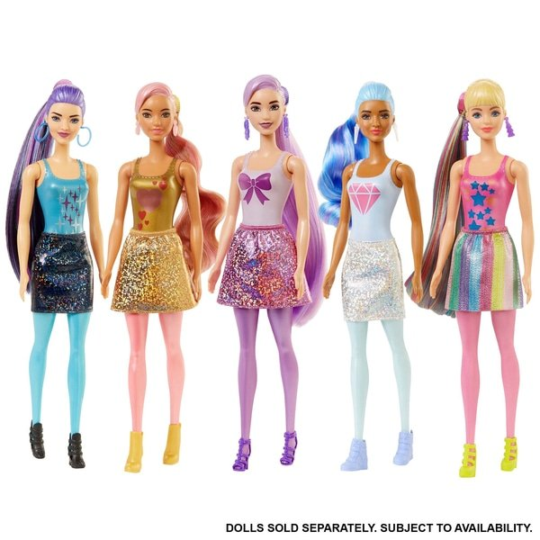 Barbie Colour Reveal Dolls Shimmer and Shine Series Assortment