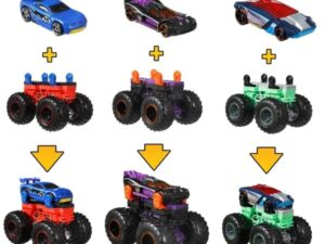 Hot Wheels 1.64 Monster Trucks - Monster Maker Assorted