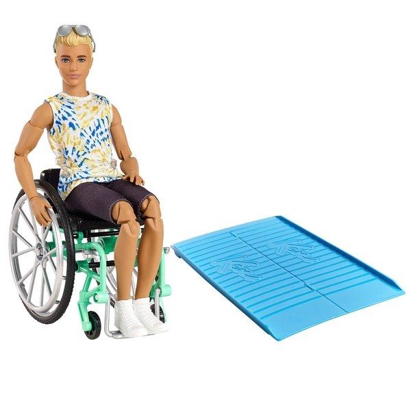 Barbie Ken Wheel Chair Doll