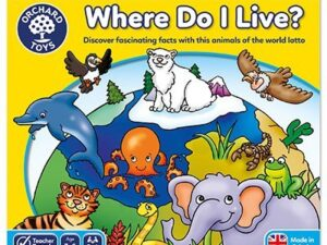 Orchard Toys Where Do I Live Game