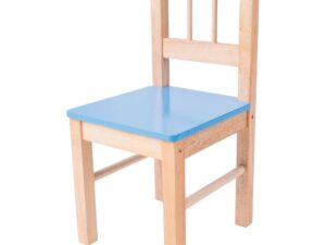 Wooden Chair (Blue)