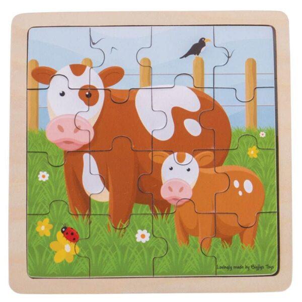 Cow & Calf Puzzle