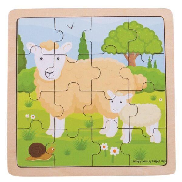 Sheep & Lamb Puzzle