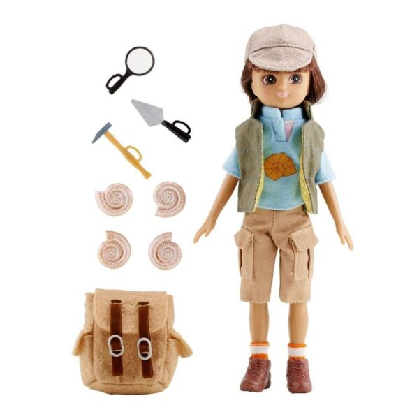 Fossil Hunter Lottie Doll