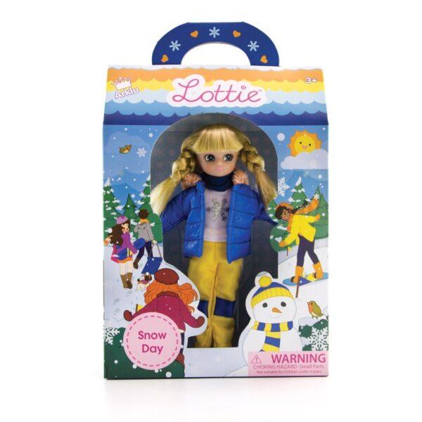 Snow Day Lottie Doll