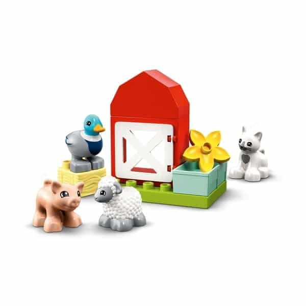 LEGO 10949 DUPLO Town Farm Animal Care Toy for Toddlers