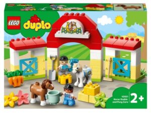 LEGO 10951 DUPLO Town Horse Stable and Pony Care Toddler Toy