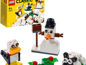 LEGO 11012 Classic Creative White Bricks Starter Building Set
