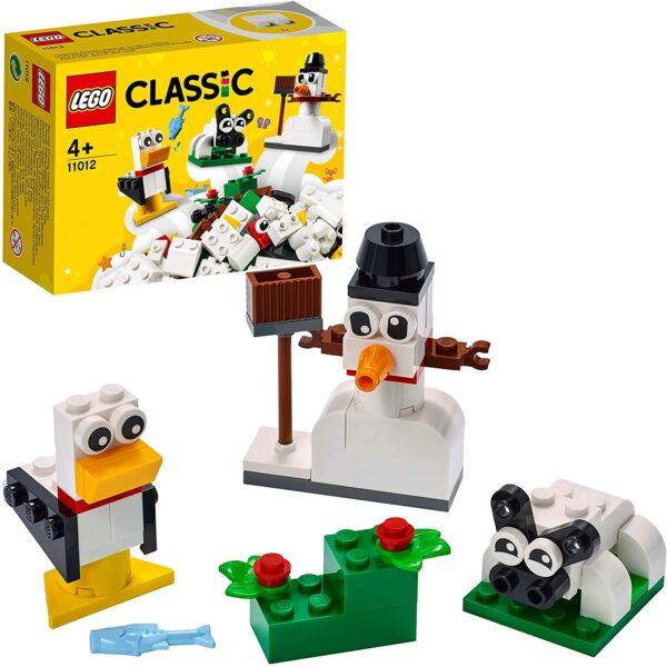 LEGO 11012 Classic Creative White Bricks Starter Building Set