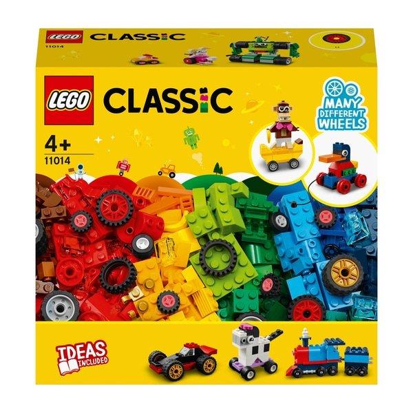 Lego 11014 Classic Bricks and Wheels Starter Building Set