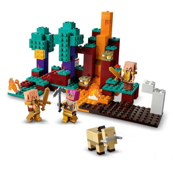 LEGO 21168 Minecraft The Warped Forest Building Set