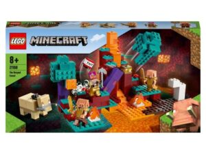 LEGO 21168 Minecraft The Warped Forest Building Set