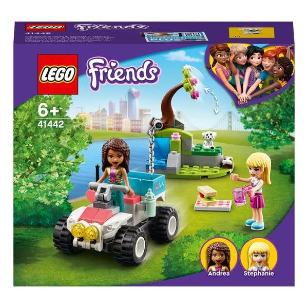LEGO 41442 Friends Vet Clinic Rescue Buggy Quad Bike Playset