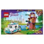 LEGO 41445 Friends Vet Clinic Ambulance Toy Car