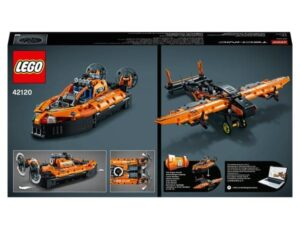 Lego 42120 Technic Rescue Hovercraft 2 in 1 Building Set