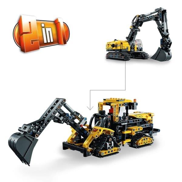 Lego 42121 Heavy-Duty Excavator 2 in 1 Building Set