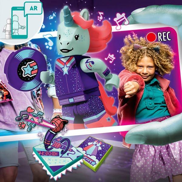 Lego 43106 Vidiyo Unicorn DJ BeatBox Music Video Maker Toy