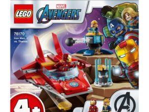 Lego 76170 Marvel Super Heroes Avengers Iron Man vs. Thanos