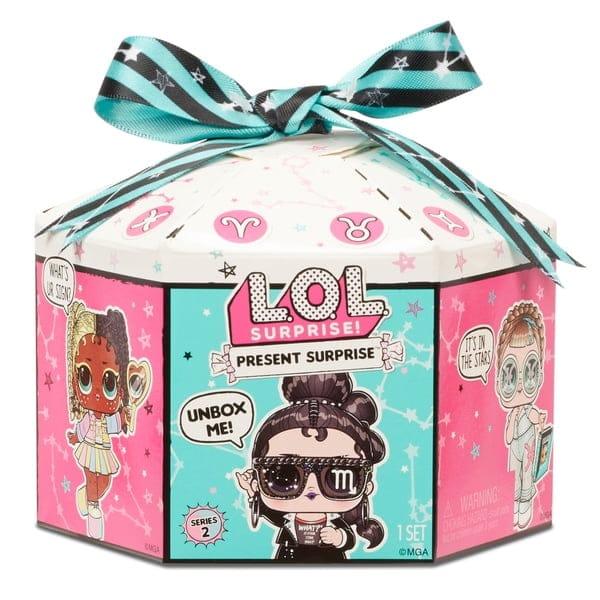 L.O.L. Surprise! Present Surprise Series 2 Glitter Shimmer Star Sign Assortment