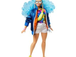 Barbie Extra Doll with Skateboard