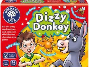 Orchard Toys 106 Dizzy Donkey Game