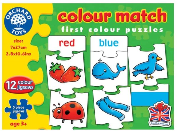Orchard Toys Colour Match Jigsaw Game