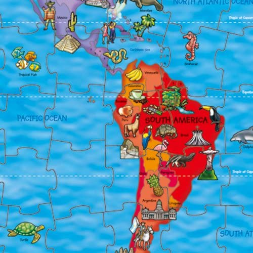 Orchard Toys World Map Jigsaw Puzzle and Poster