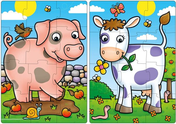 Orchard Toys 292 First Farm Friends Jigsaw Puzzles