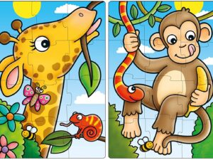 Orchard Toys 293 First Jungle Friends Jigsaw Puzzles