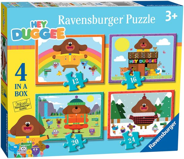 Ravensburger Hey Duggee 4 In a Box Jigsaw Puzzle