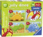 Ravensburger 7289 Jolly Dinos My First Jigsaw Puzzles