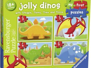 Ravensburger 7289 Jolly Dinos My First Jigsaw Puzzles