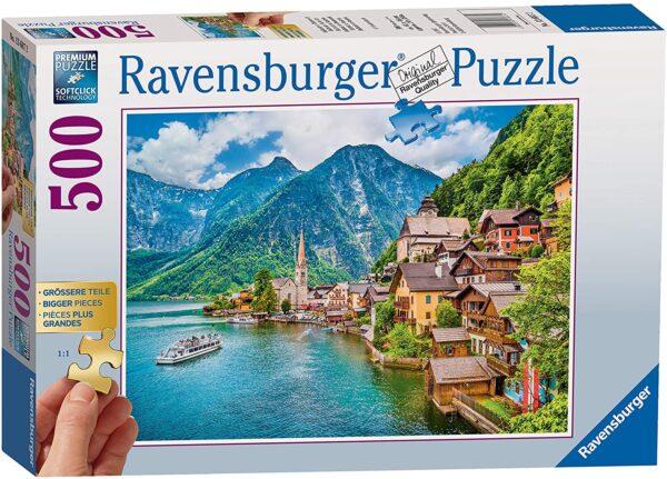 Ravensburger Hallstatt Austria 500 Piece Jigsaw Puzzle