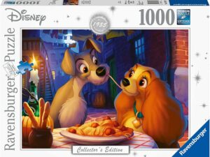 Ravensburger 13972 Disney Collector's Edition Lady & The Tramp 1000 Jigsaw Puzzle