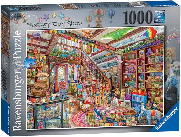 Ravensburger Aimee Stewart The Fantasy Toy Shop 1000 Piece Jigsaw Puzzle