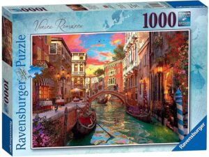 Ravensburger - Venice Romance 1000 Piece Jigsaw Puzzle for Adults & for Kids Age 12 and Up