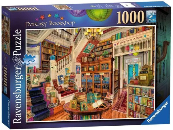 Ravensburger 19799 The Fantasy Bookshop 1000 Piece Jigsaw Puzzle