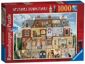 Ravensburger Upstairs Downstairs 1000 Piece Jigsaw Puzzle