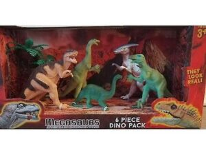 Megasaurs 6 Piece Dino Pack SV15217