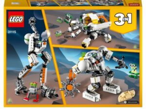 LEGO 31115 Creator 3 in 1 Space Mining Mech Toy