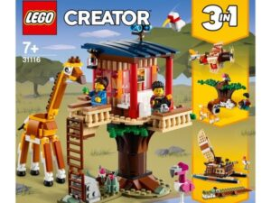 LEGO 31116 Creator 3 in 1 Safari Wildlife Tree House Set
