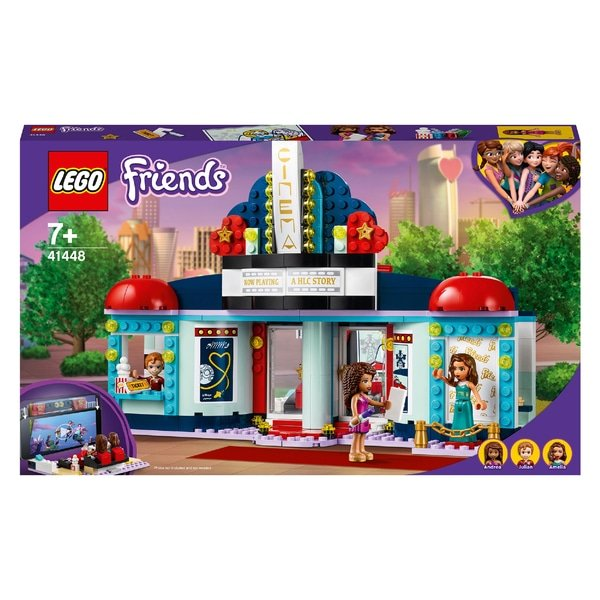 LEGO 41448 Friends Heartlake City Movie Theater Cinema Set