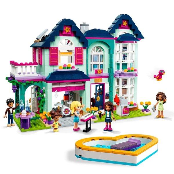 LEGO 41449 Friends Andrea's Family House Dollhouse Playset